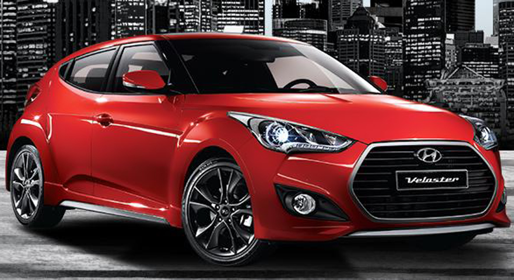 2015 Hyundai Veloster Turbo facelift South Korea Gets Hyundai Veloster Turbo Facelift