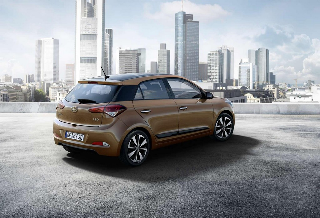 new 2015 hyundai i20 features and photos. Black Bedroom Furniture Sets. Home Design Ideas
