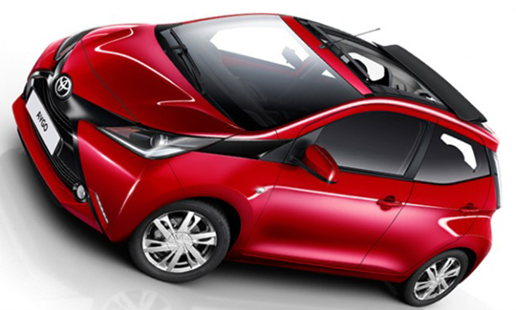 2015 Toyota Aygo X Wave Convertible 2 Toyota Topless 2015 Aygo X Wave features and details