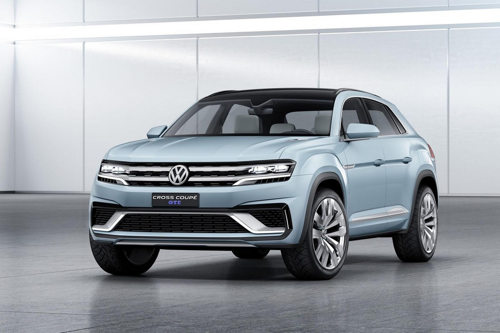 2015 Volkswagen Cross Coupe GTE Concept 1 2015 Volkswagen Cross Coupe GTE Concept