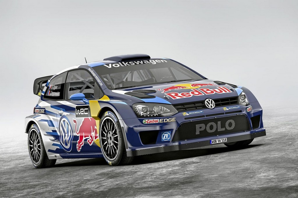 2015 Volkswagen Polo R WRC 1 2015 Volkswagen Polo R WRC First Look