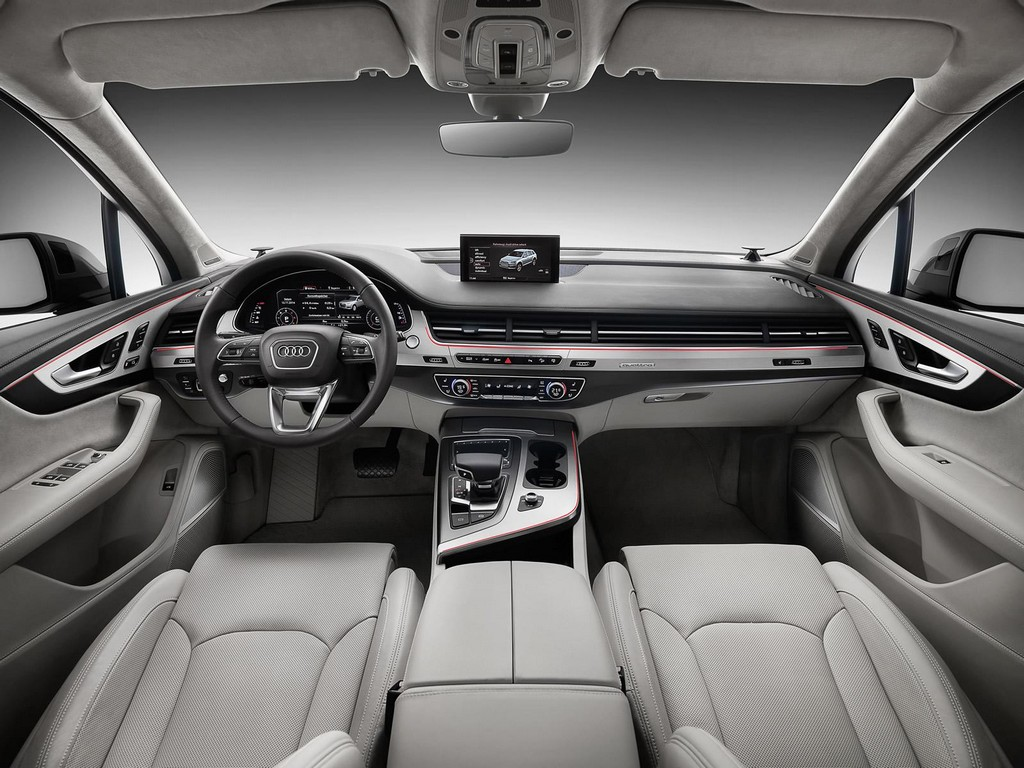 2016 Audi Q7 Interior 1 2016 Audi Q7 features and details