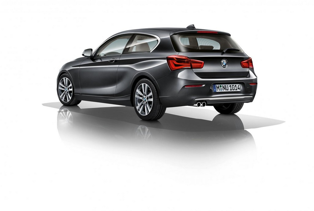 2016 BMW 1 Series Facelift 2 2016 BMW 1 Series features and details
