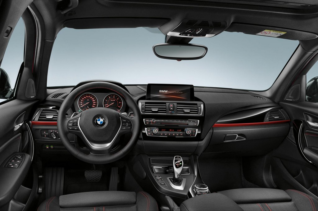 2016 BMW 1 Series Facelift Interior 1 2016 BMW 1 Series features and details