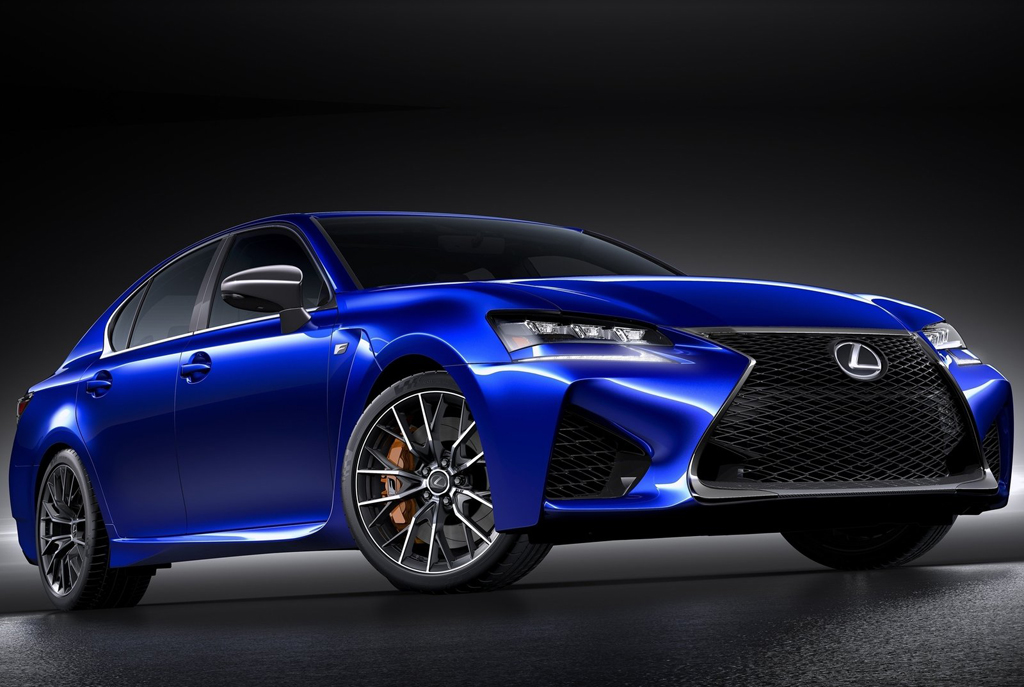 2016 Lexus GS F 1 2016 Lexus GS F Unveiled : Features and details