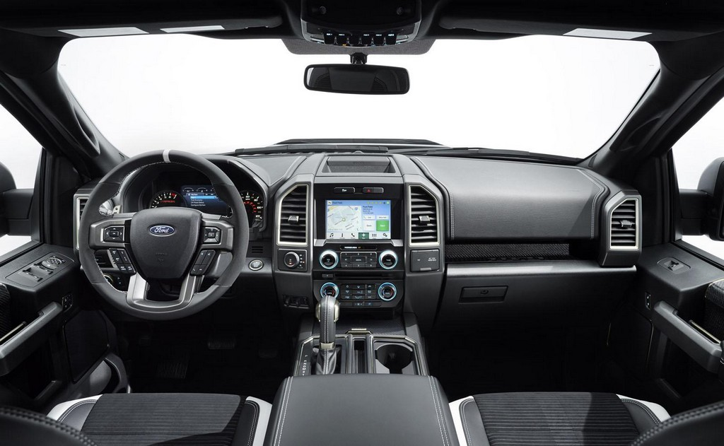 2017 Ford F 150 Raptor Interior 2 2017 Ford F 150 Raptor features and details