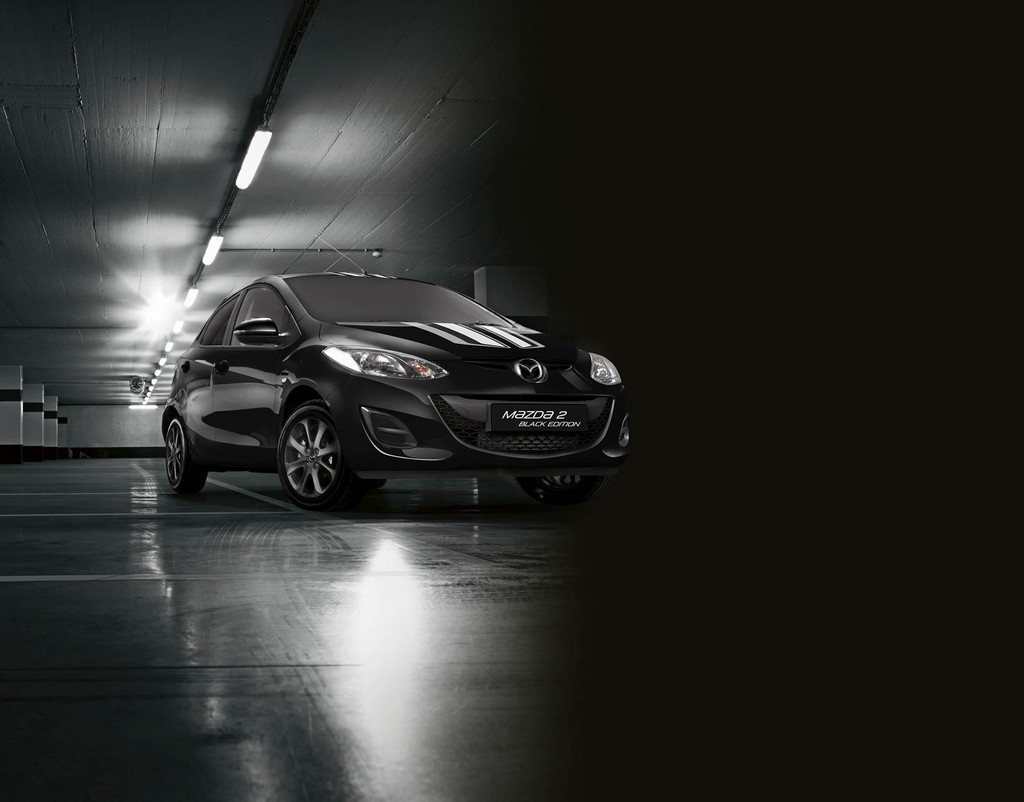 Mazda2 Black Edition Mazda2 Black and White editions launched in UK