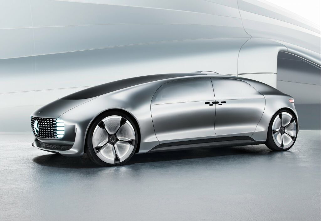 Mercedes Benz F015 Luxury in Motion Concept 1 F015 Luxury Motion Concept of 2015 from Mercedes Benz