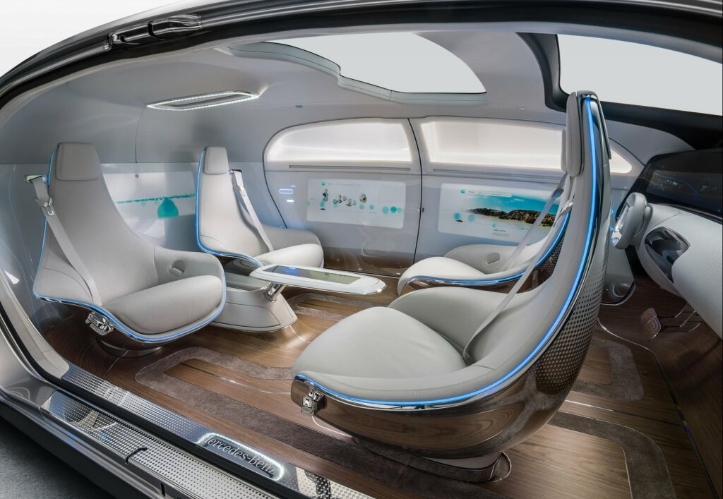 Mercedes Benz F015 Luxury in Motion Concept 10 F015 Luxury Motion Concept of 2015 from Mercedes Benz