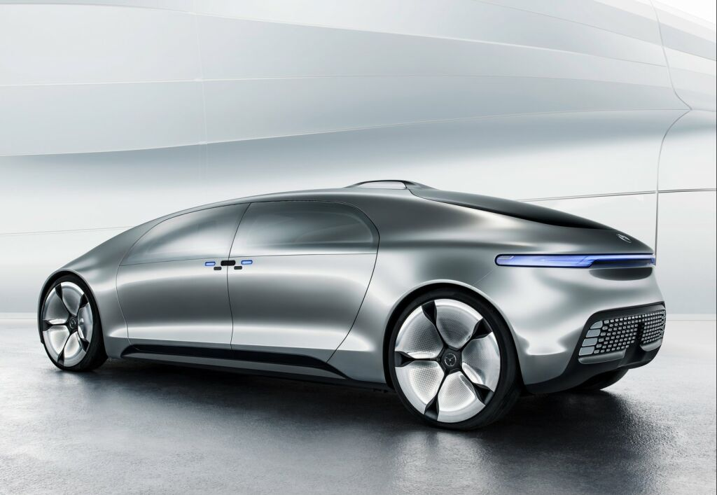 Mercedes Benz F015 Luxury in Motion Concept 3 F015 Luxury Motion Concept of 2015 from Mercedes Benz