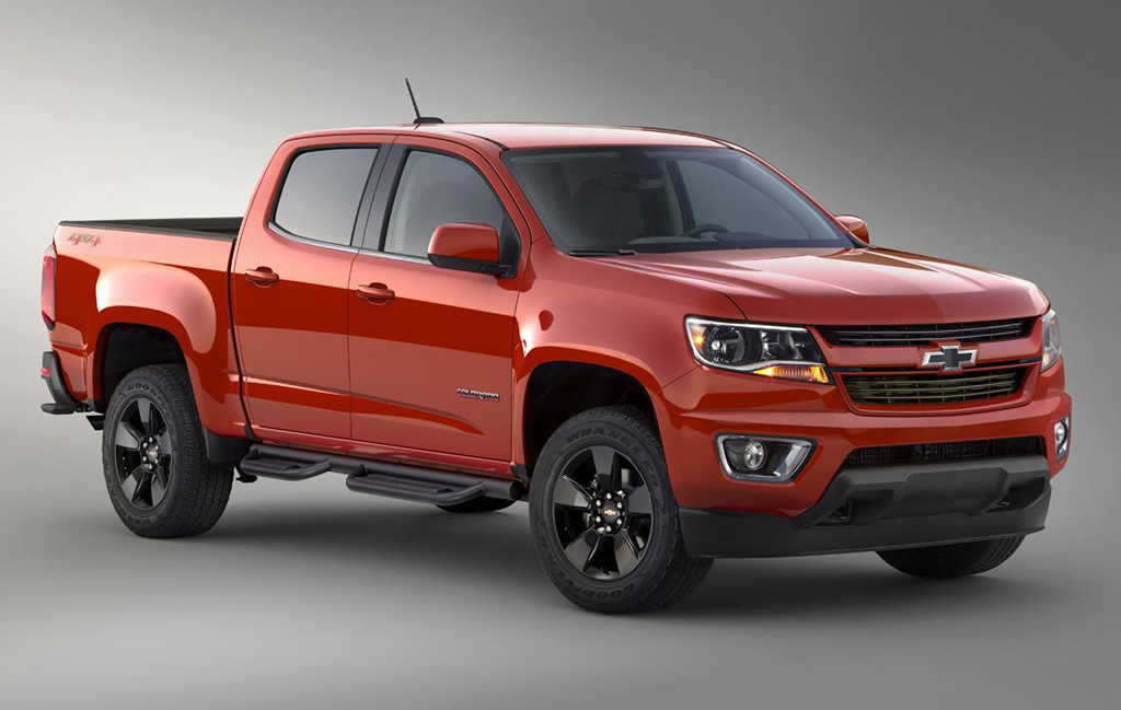 2015 Chevrolet Colorado GearOn 1 Chevrolet's 2015 Colorado GearOn limited edition car revealed