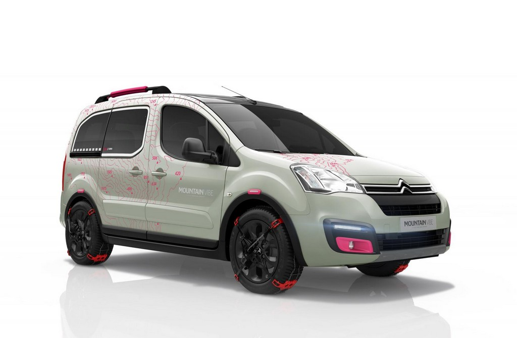 2015 Citroen Berlingo Mountain Vibe Concept Citroen reveals the new 2015 Berlingo Mountain Vibe concept