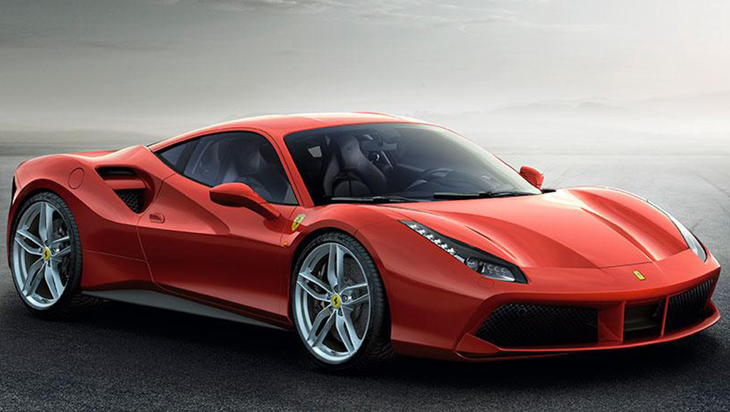 2015 Ferrari 488 GTB 1 Ferrari's new 488 GTB revealed