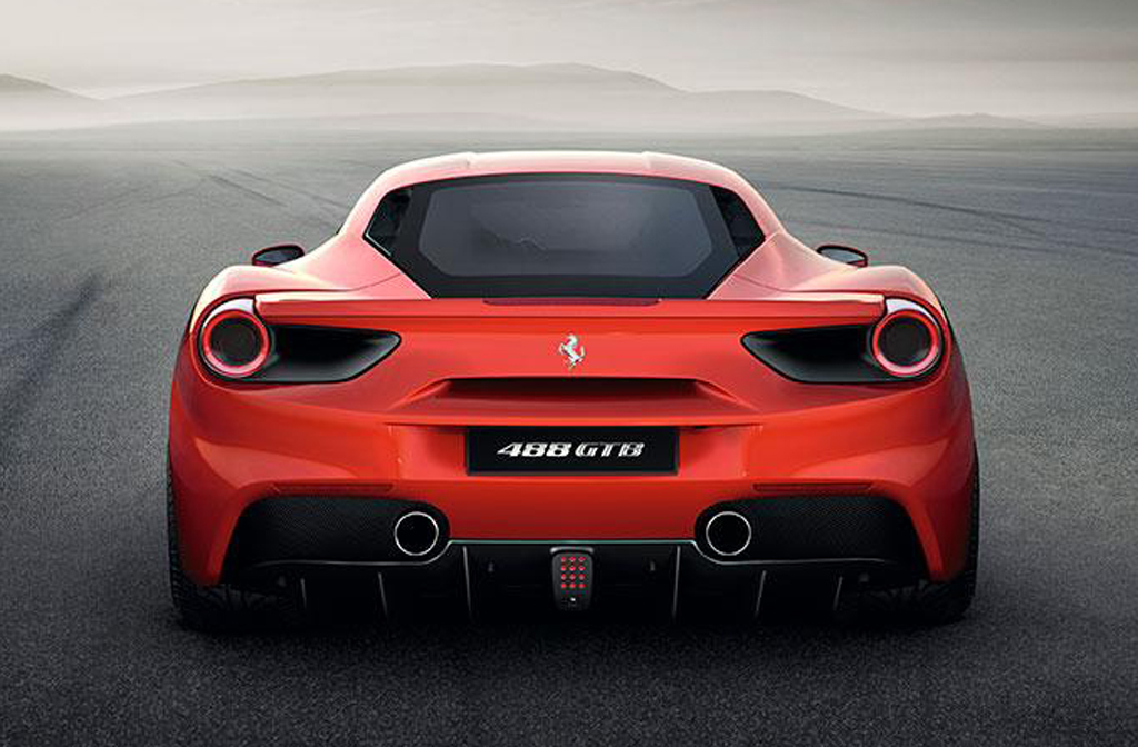 2015 Ferrari 488 GTB 6 Ferrari's new 488 GTB revealed