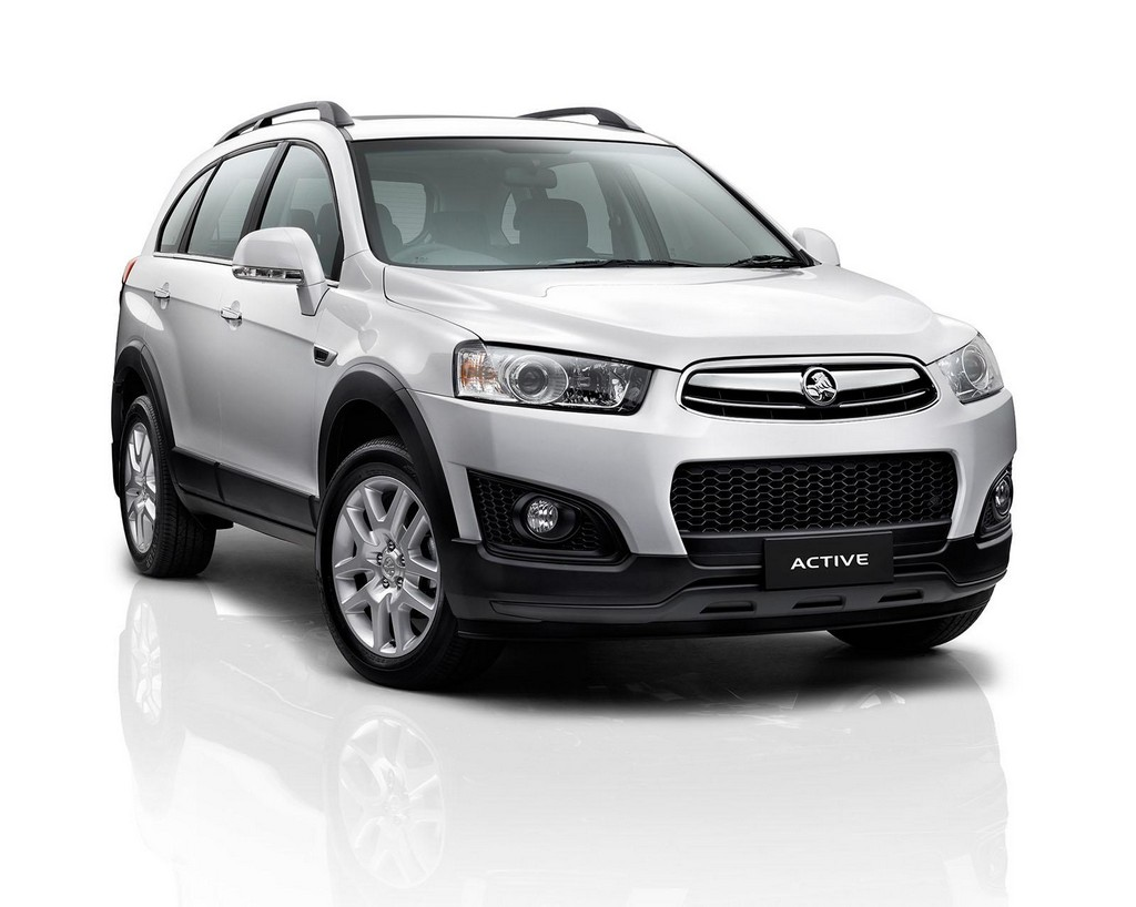 2015 Holden Captiva Active 2015 Holden Captiva Active Special Edition introduced