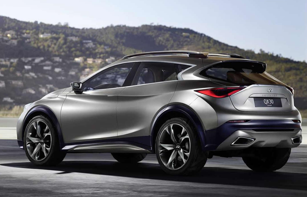 2015 Infiniti QX30 Concept Infiniti releases the first pictures of the 2015 QX30 concept car