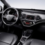 2015 Kia Morning facelift Interior (1)