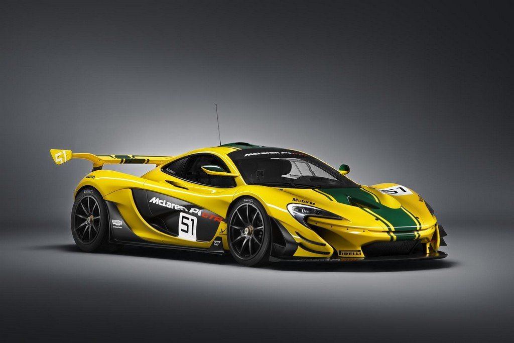 2015 McLaren P1 GTR 1 2015 McLaren P1 GTR to debut at the Geneva Motor Show
