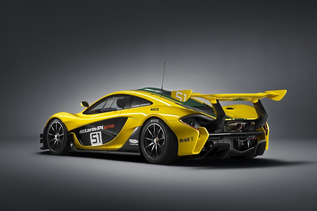 2015 McLaren P1 GTR 3 2015 McLaren P1 GTR to debut at the Geneva Motor Show
