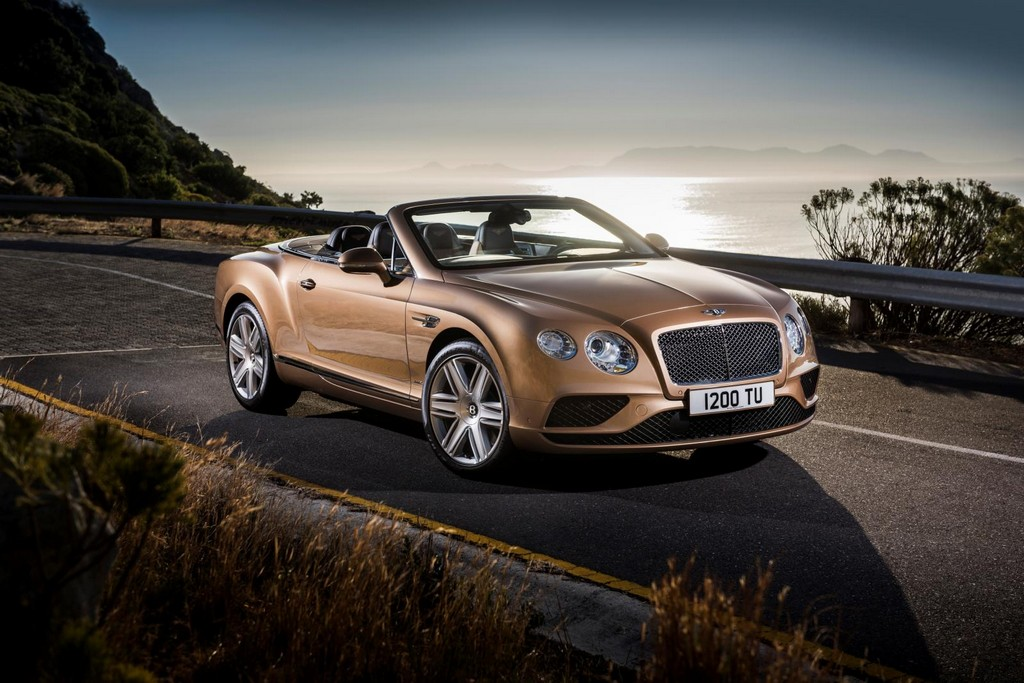 2016 Bentley Continental GT Convertible 1 Facelifted 2016 Bentley Continental GT And Flying Spur