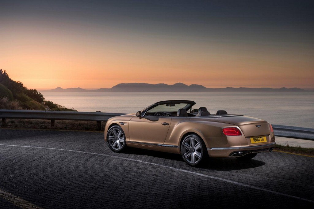 2016 Bentley Continental GT Convertible 2 Facelifted 2016 Bentley Continental GT And Flying Spur