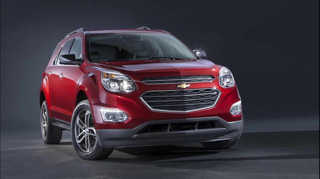 2016 Chevrolet Equinox 1 2016 Chevrolet Equinox SUV revealed : features and details