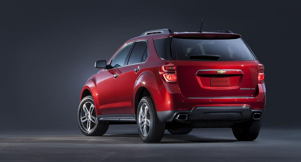 2016 Chevrolet Equinox 3 2016 Chevrolet Equinox SUV revealed : features and details