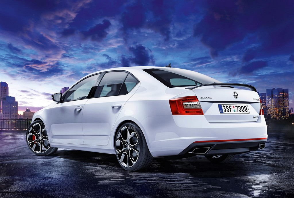 2016 Skoda Octavia RS 230 Skoda introduces Special Edition of 2016 Octavia RS 230