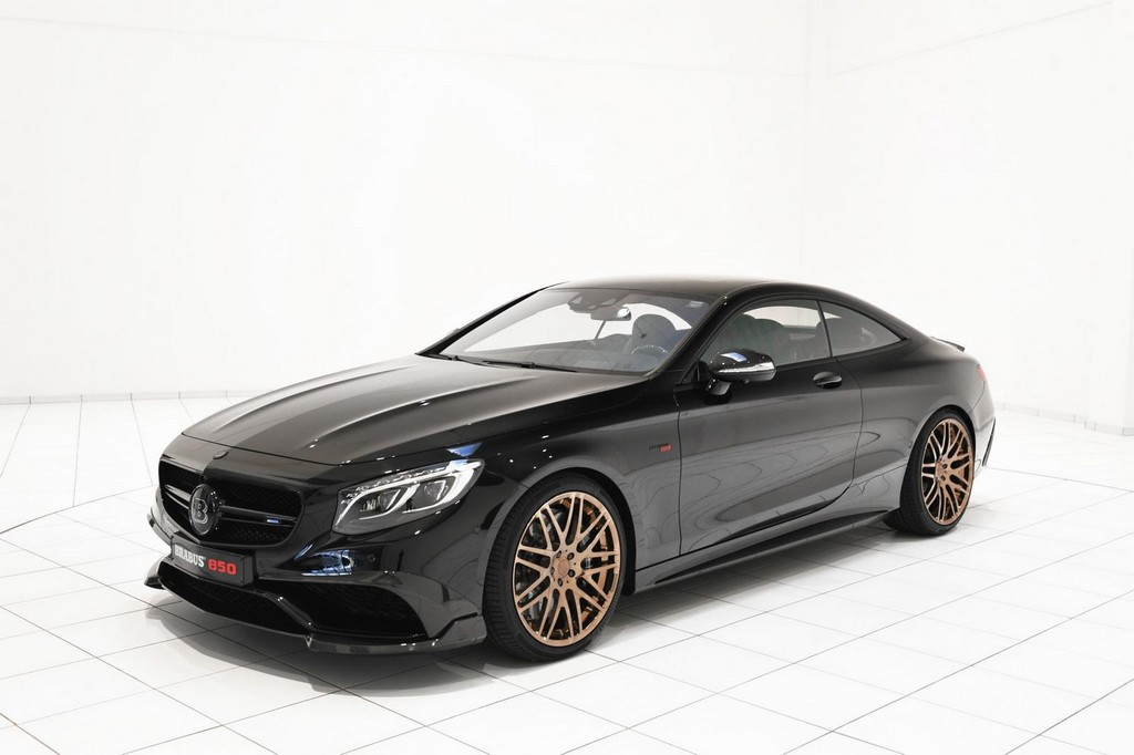 Brabus 850 6.0 Biturbo Coupe 1 Brabus 850 6.0 Biturbo Coupe To Attend Geneva Motor Show