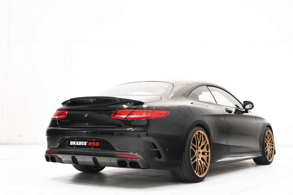 Brabus 850 6.0 Biturbo Coupe 3 Brabus 850 6.0 Biturbo Coupe To Attend Geneva Motor Show