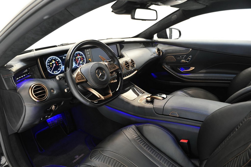 Brabus 850 6.0 Biturbo Coupe Interior 1 Brabus 850 6.0 Biturbo Coupe To Attend Geneva Motor Show