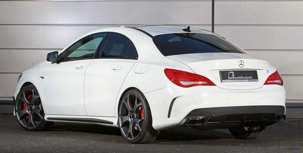 Mercedes CLA 45 AMG by BB Automobiltechnik 2 B&B's tuning system for Mercedes CLA 45 AMG