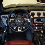 2015 Ford Mustang Convertible Interior