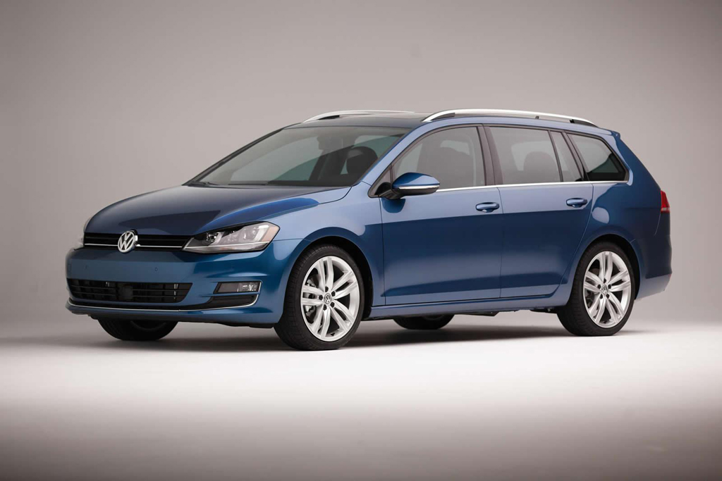 2015 Volkswagen Golf SportWagen 1 2015 Volkswagen Golf SportWagen features and details