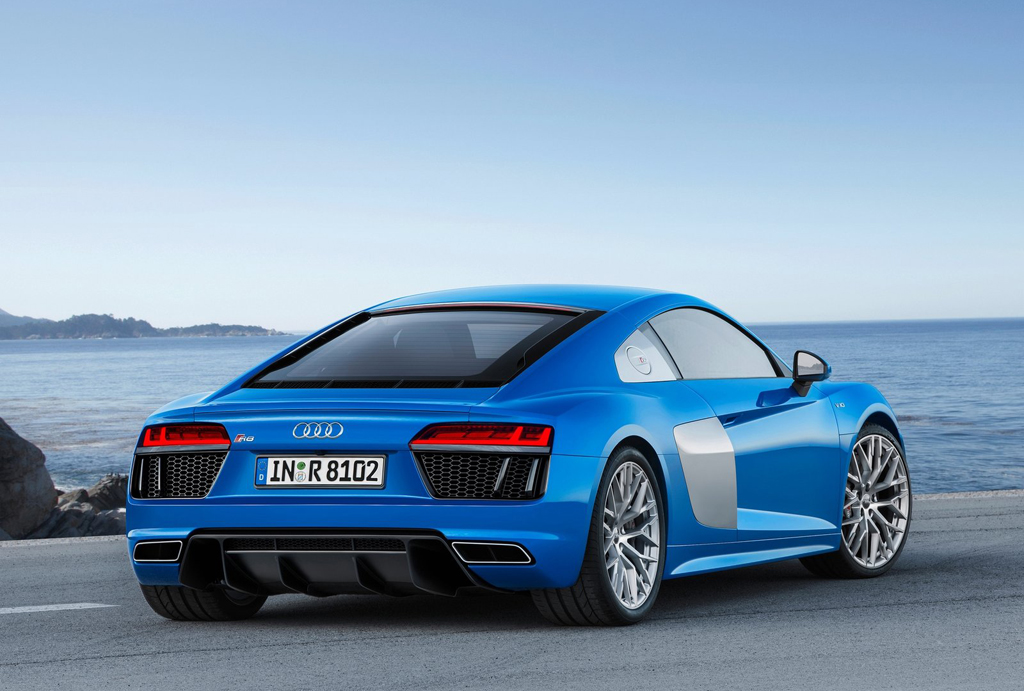 2016 Audi Reveals R8 V10 Features And Specs