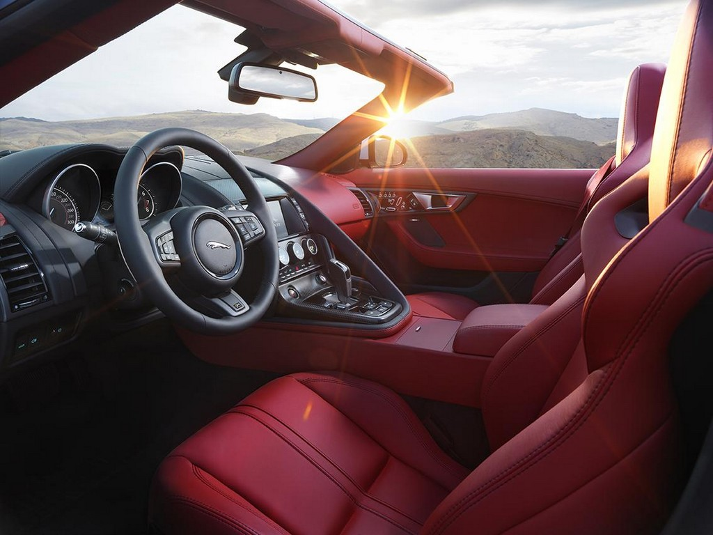 2016 Jaguar F Type Interior 1 2016 Jaguar F Type features and details