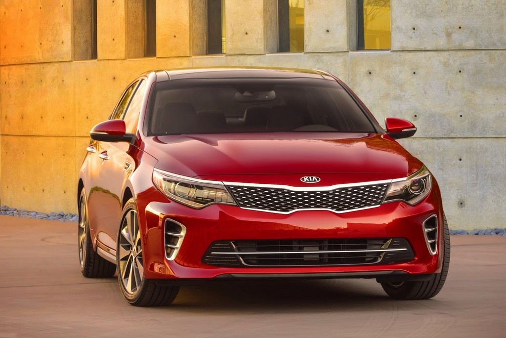 2016 Kia Optima Sedan Kia Unveils 2016 Optima Sedan