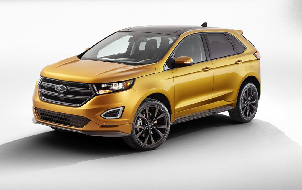 2015 Ford Edge SUV 1 2015 Ford Edge SUV Features and Details