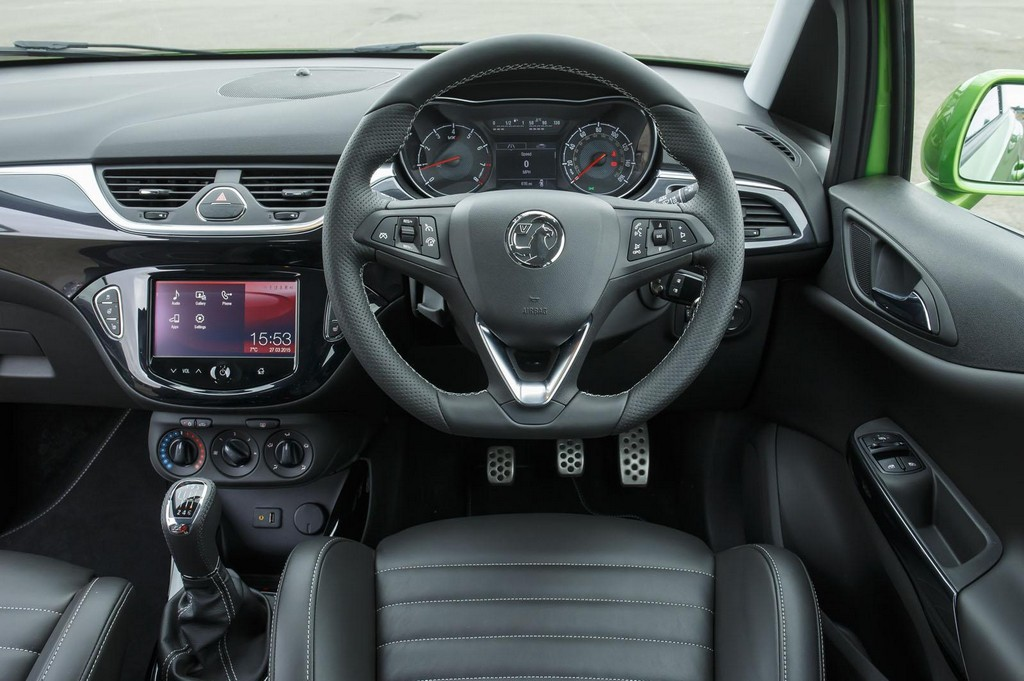 2015 vauxhall corsa vxr features and specs for Interior opel corsa