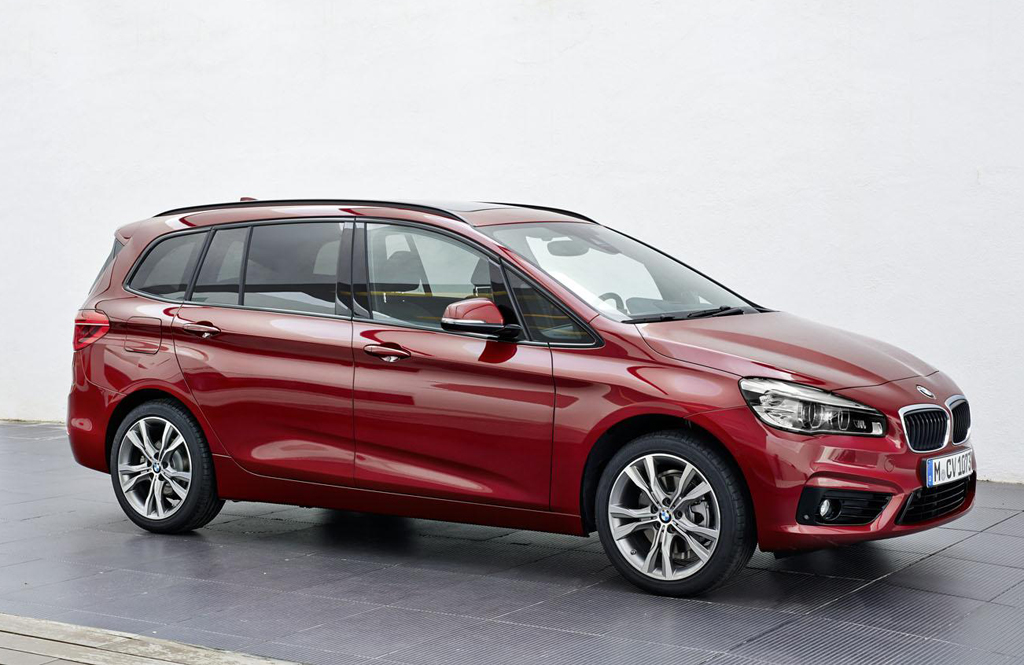 2016 BMW 2 Series Gran Tourer 1 2016 BMW 2 Series Gran Tourer Features and specs