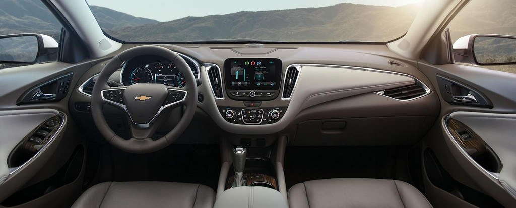 2016 Chevrolet Malibu Sedan Interior 2016 Chevrolet Malibu Sedan : Features and details