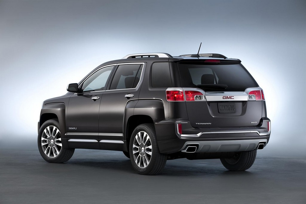2016 GMC Terrain 3 2016 GMC Terrain : Features and details