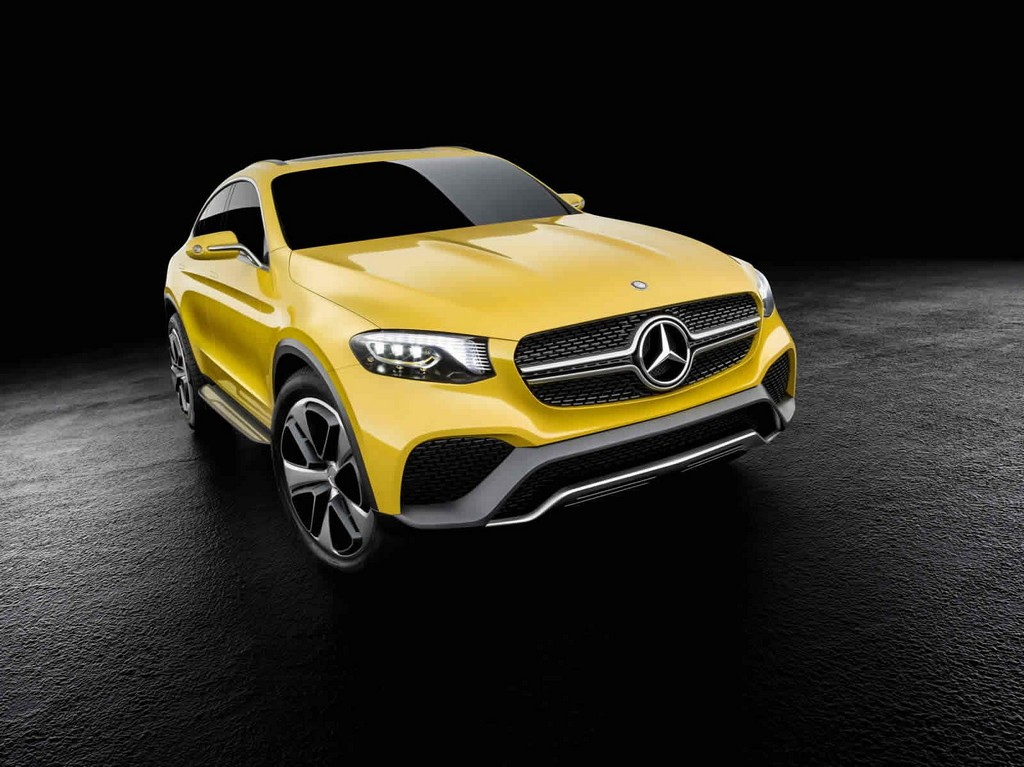 2016 Mercedes Benz GLC Class Coupe 1 2016 Mercedes Benz Concept GLC Coupe