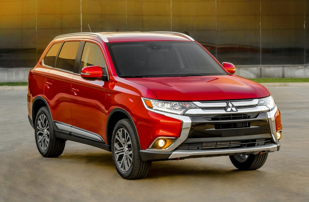 2016 mitsubishi outlander suv features and details. Black Bedroom Furniture Sets. Home Design Ideas