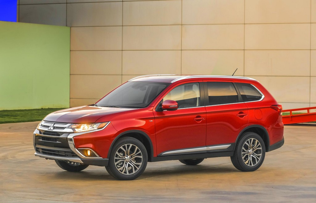 2016 Mitsubishi Outlander SUV 9 2016 Mitsubishi Outlander SUV Features and details