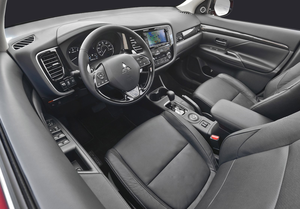 Acura Mdx 2016 Interior >> 2016 Mitsubishi Outlander SUV Features and details | machinespider.com