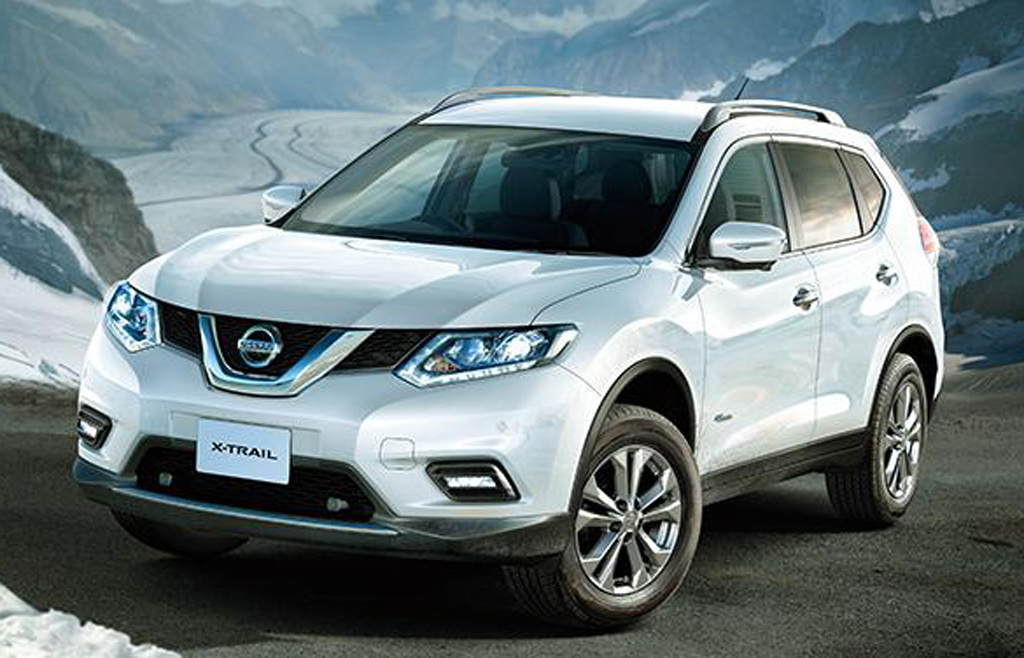 2016 Nissan X-Trail Hybrid : Features and specs | machinespider.com