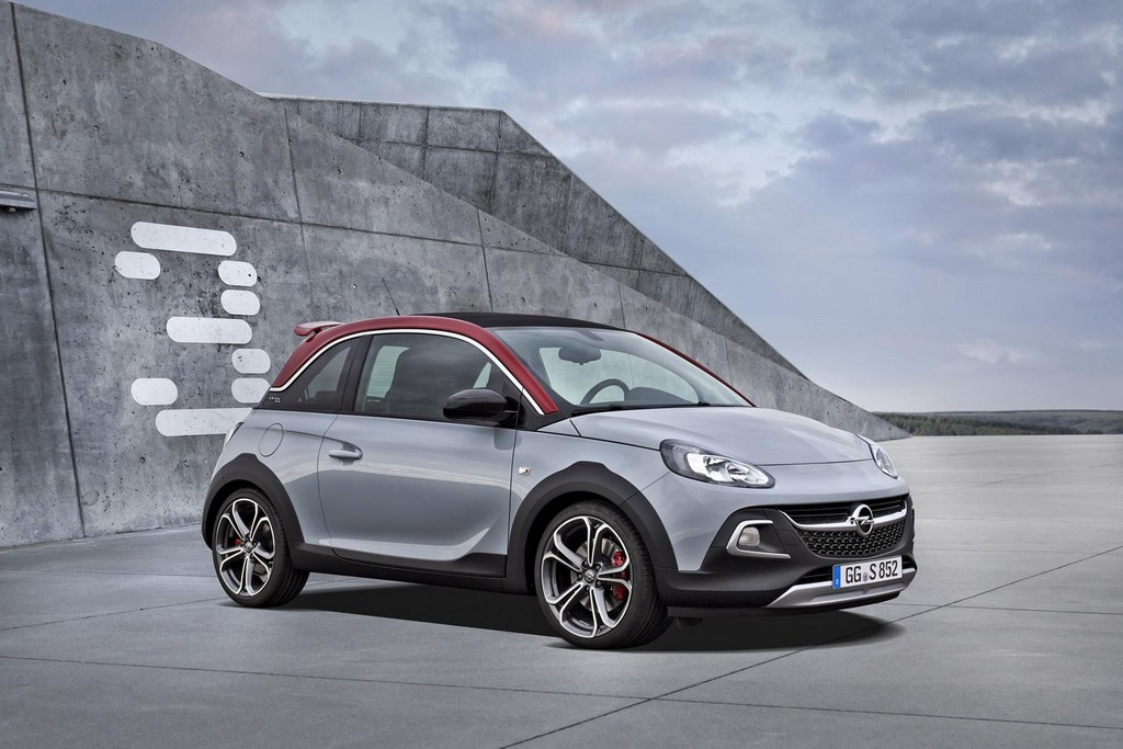 2016 Opel Adam Rocks S 2 2016 Opel Adam Rocks S : Details
