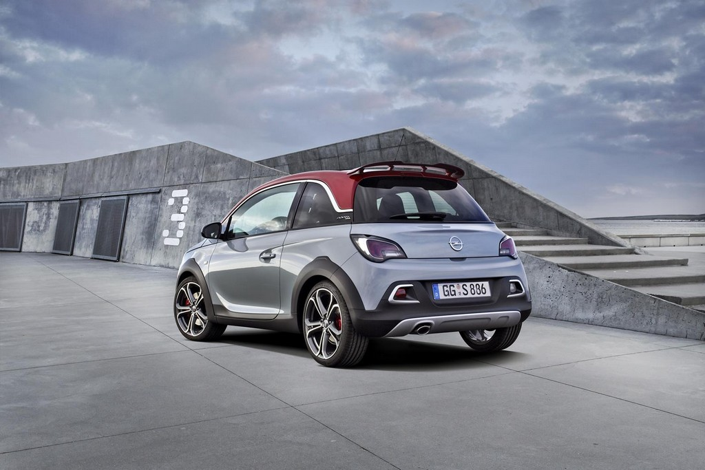 2016 Opel Adam Rocks S 4 2016 Opel Adam Rocks S : Details