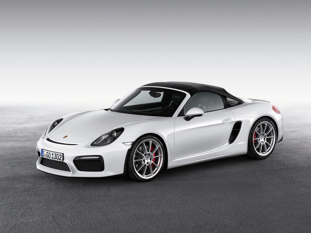 2016 Porsche Boxster Spyder 1 2015 Porsche Boxster Spyder Features and details